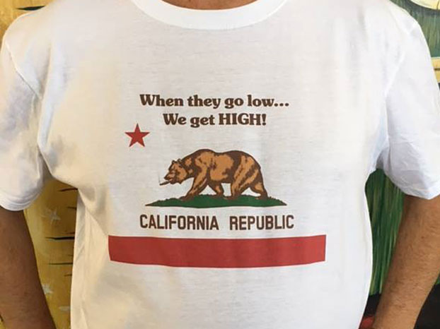 When They Go Low, We Get High T-Shirt